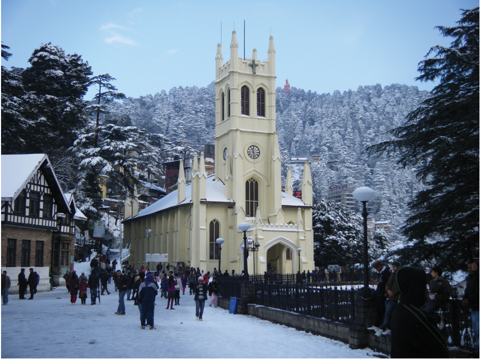 Best of Shimla Manali Volvo Package